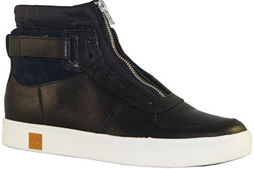 TIMBERLAND A17J9 brun chaussures tornade gris homme sneaker lacets de la peau lisse Noir