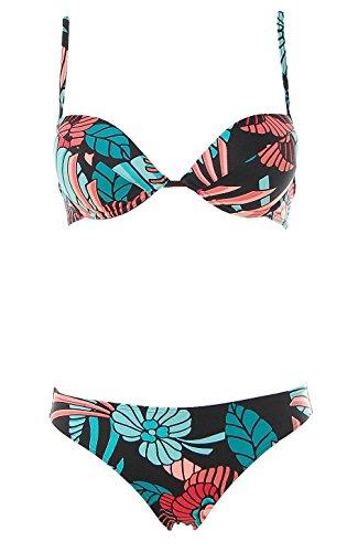 Bora Bora -  Coordinato  - Donna Nero multicolore 44