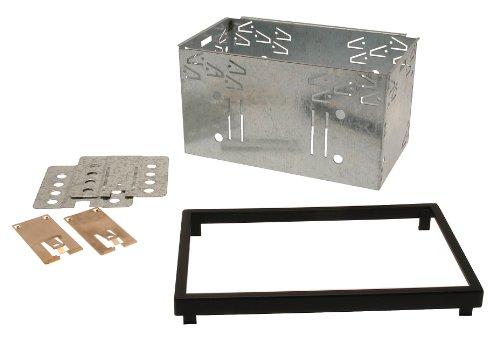 Celsus ACG5041 Radioblende mit Gehäuse und Montage-Set, Doppel-DIN, 103mm -