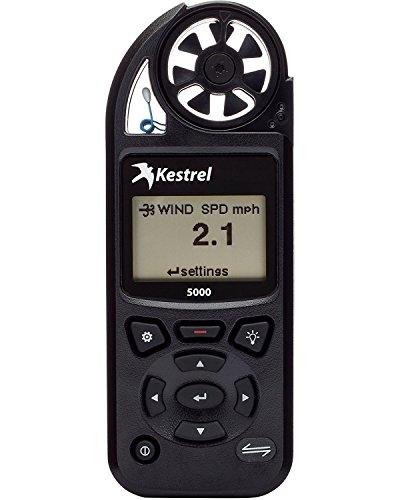 Kestrel 5000Medidor de Medio Ambiente, Negro