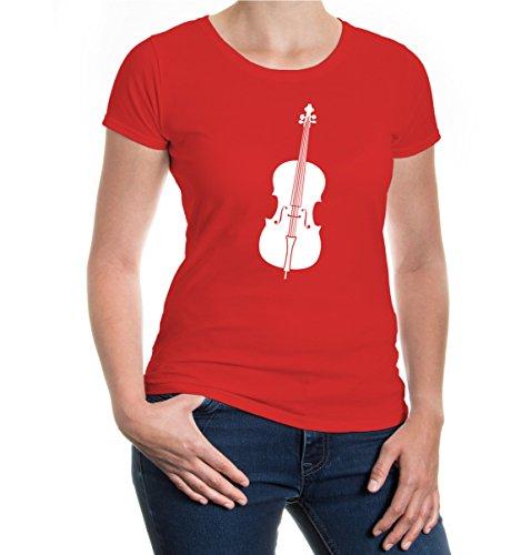 ncello-Instrument-Silhouette-L-Red-White ()