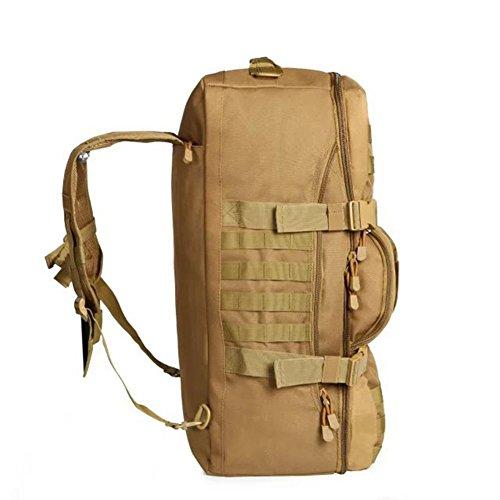 Zaino 50L borsa tattica del camuffamento viaggio trekking portatile uno spalla spalle zaino multiuso all'aperto , acu acu