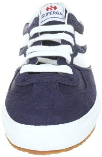 Superga 2832-NYLU S001XG0, Unisex - Erwachsene Sneaker Blau (Blue-White 942)