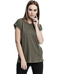 Urban Classics Damen T-Shirt Ladies Extended Shoulder Tee