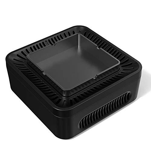 Guajave - Cenicero purificador de Aire de Alta presión con Iones Negativos y Dispositivo de Carga USB...