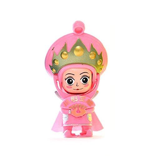 Sungpunet Sichuan Chinesisches Operngesicht China Tradition Kultur wechselnde Puppe Spielzeug Baby Spiel Magic Toys Pink (Kultur-puppen)