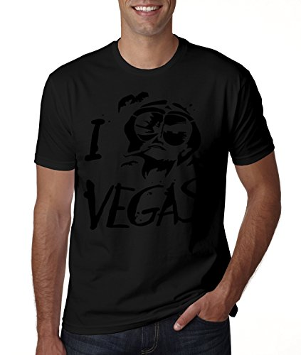 Fear And Loathing In Las Vegas Stencil Design Men's T-Shirt Large Vegas Shirt