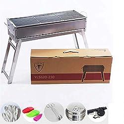 DSHBB Barbecue-Grill, Tragbare Grill-Paket, Indoor-Grills & Grills Tragbare Stand Camping Camping Grills Öfen (Größe : BYLS480)