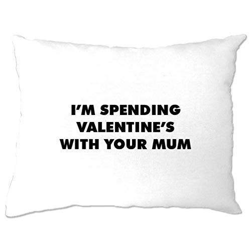 Tim and ted novità copricuscino trascorrere san valentino con la vostra mamma white one size