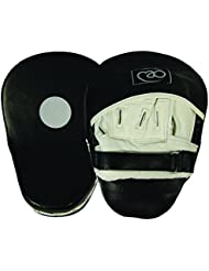 Boxing - Mad Curved Leather - Pao de boxeo, color negro / blanco
