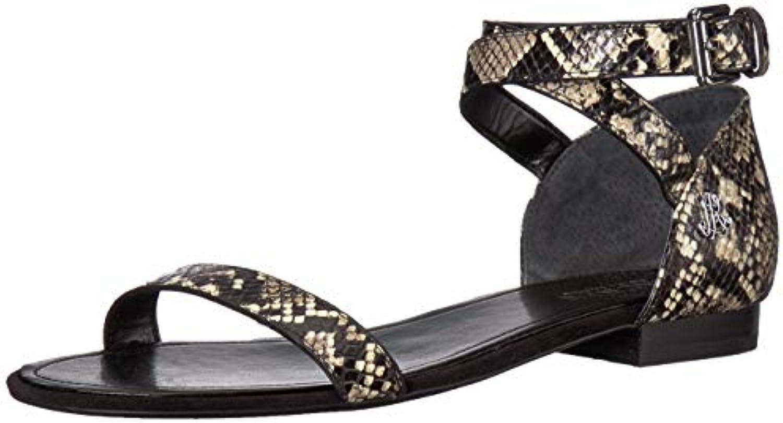 115dd7b8a2a860 Lauren Lauren Lauren Ralph Lauren Women s Davison Flat Sandal B07BC8252T  Parent fb2d36