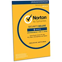 Norton Security Deluxe 2019 | 5 Geräte | 1 Jahr | Windows/Mac/Android/iOS | FFP| Download