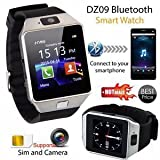 Shubh Impex Bluetooth Smart Watch Compatible With All 3G, 4G Phone With Camera And Sim Card Support Compatible With Smartphones (Color May Vary)