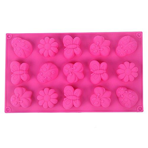 YOKIRIN Forma Stampo in Silicone di Insetti Farfalle Accessorio per la Decorazione Della Torta del Fondente di Cioccolato stampi Zucchero Torte Stampi Sapone