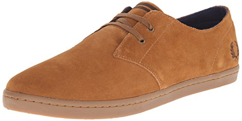 Ginger Brown Schuhe (Fred Perry Byron Low Suede Ginger B7401434, Herren Sneaker - EU 43)