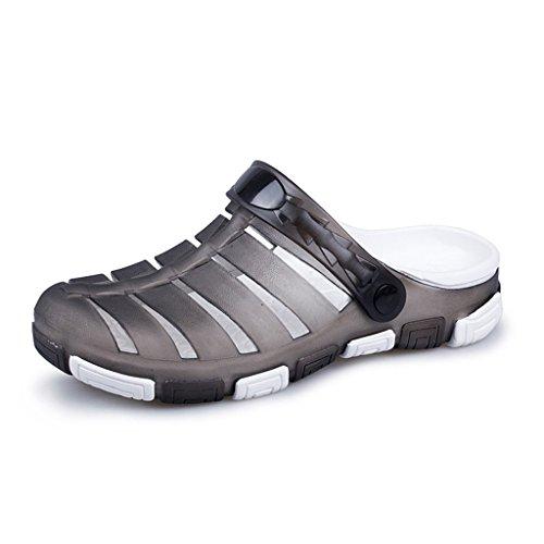 Hishoes - Sandali con Zeppa uomo Grey