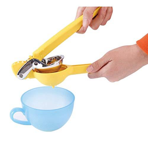 Manuel Presse Citron de qualité premium en acier inoxydable manuelle par pression de la main presse-agrumes robuste avec poignée