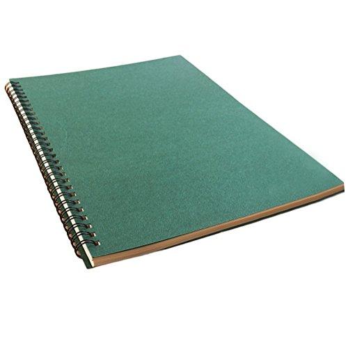 Dosige Moderner B5 Notizblock Notizbuch Skizzenbuch Skizzenblöcke Ringblöcke 120 Seiten (60 Blatt)...