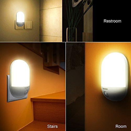 Led night light techole plug and play automatic wall lights with techole plug and play automatic wall lights with dusk to aloadofball Image collections