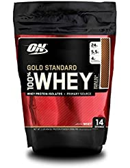 Optimum Nutrition Whey Gold Standard Protein, Double Rich Chocolate, 1er Pack (1 x 450g)