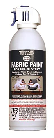Simply Spray Upholstery Fabric Paint - Non-Toxic Aerosol Paint For