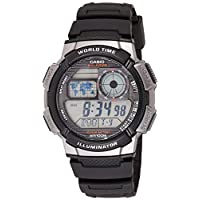 Casio Standard Watch For Men - Digital Resin Band - AE-1000W-1BV