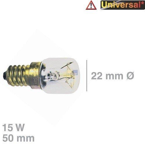 2x Backofenlampe Lampe Glühbirne Glühlampe f Backofen Herd 15W E14