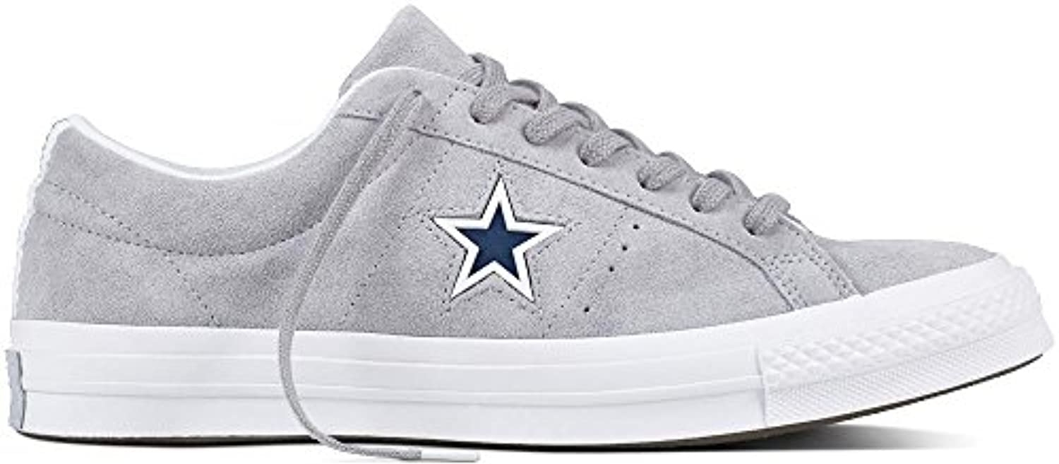 Converse Lifestyle One Star Ox Suede, Suede, Suede, Scarpe da Fitness Unisex – Adulto | Online Store