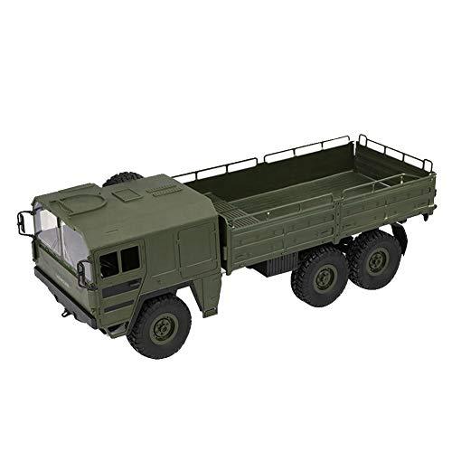 RC Lkw Spielzeugauto Für Kinder, Simuliertes Kletterndes Auto 1:16 Sechs-Laufwerk Militär LKW Off-Road Rock Fahrzeug Kindergeschenk Von 332PageAnn