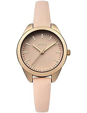 Oasis Damen-Armbanduhr Analog Quarz B1546