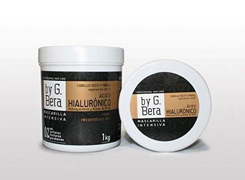 Mascarilla Profesional ACIDO HIALURONICO, HIDROQUERATINA Y ACEITE DE OLIVA