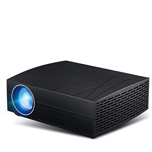 Heimprojektor, Miniprojektor 3000 Lumen 1080P HD-Projektoren für Videoprojektoren, die mit SDTV/EDTV/HDTV, NTSC, PAL/SECAM und Android 6.0-Heimkinoprojektor kompatibel sind.