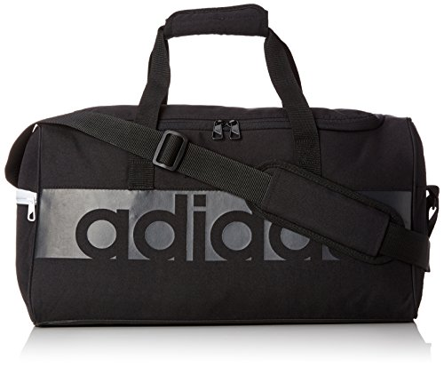 adidas Tiro Linear S Team Tasche, Black/Dark Grey, 20 x 47 x 25 cm