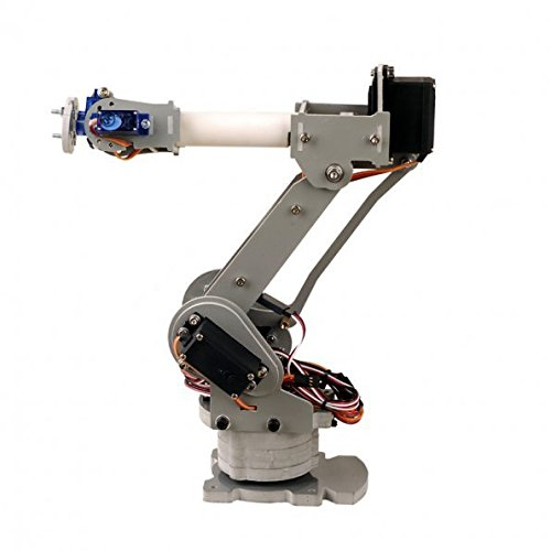 Preisvergleich Produktbild SainSmart DIY 6-Axis Control Palletizing Robot Arm Model for Arduino UNO MEGA2560
