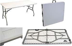 Table tréteau pliante - pour les évènements - 1,5 m (5 ft) pliable facile à ranger