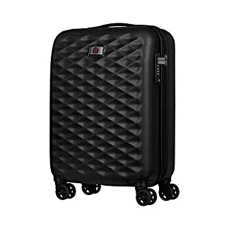 Wenger Lumen 20″ Hardside Luggage Global Carry-On – Negro Maleta, 54 cm, 32 Liters