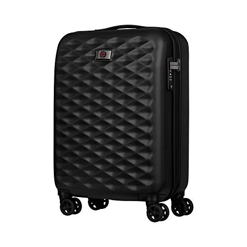 "Wenger Wenger Lumen 20\"" Hardside Luggage Global Carry-On - Black Koffer, 54 cm, 32 liters, Schwarz (Black)"