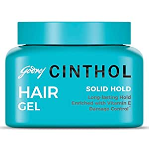 Cinthol Hair Styling Gel, Solid Hold, 50ml