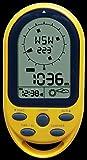 Technoline Kompass EA 3050, Gelb, 5,4 x 10,3 x 1,7 cm -
