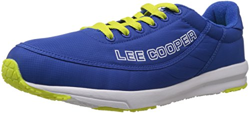 Lee Cooper Men's Blue Mesh Running Shoes - 8 UK  available at amazon for Rs.1379