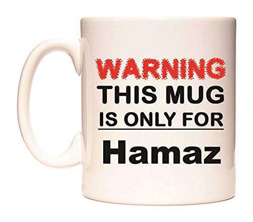 WARNING THIS MUG IS ONLY FOR Hamaz Becher von WeDoMugs