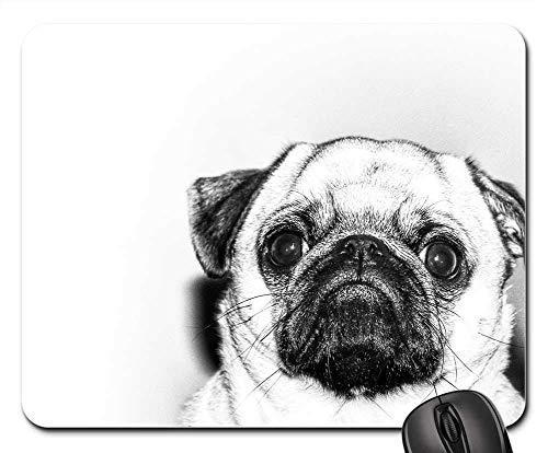 Günstige Funny Kostüm - Gaming-Mauspads, Mäusematte, Mops Hund Haustier Tier Cute Puppy Funny Adorable
