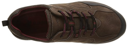 Allrounder by Mephisto Caletto, Randonnée Basses Homme Marron (Rubber 1/Crazy Horse 51)