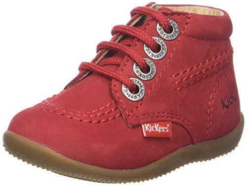 Kickers Unisex Baby Billy Hausschuhe, Rot (Rouge 4), 21 EU