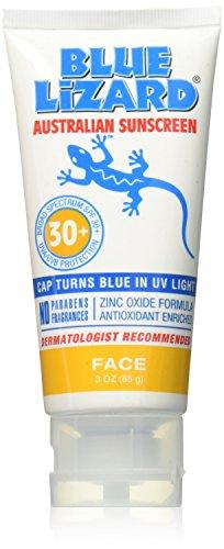 Blue Lizard Australian Sunscreen SPF 30+, Face, 3...