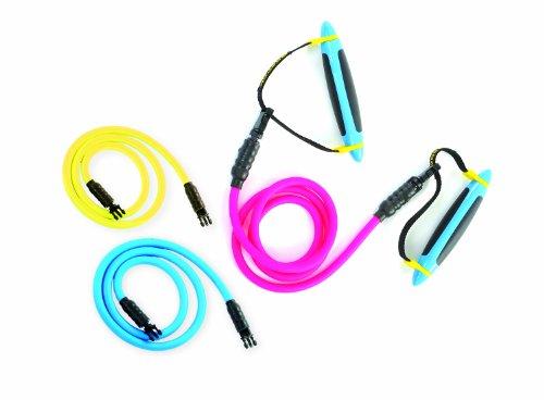 Reebok Widerstandsband Pro, magenta/yellow, RATB-40034