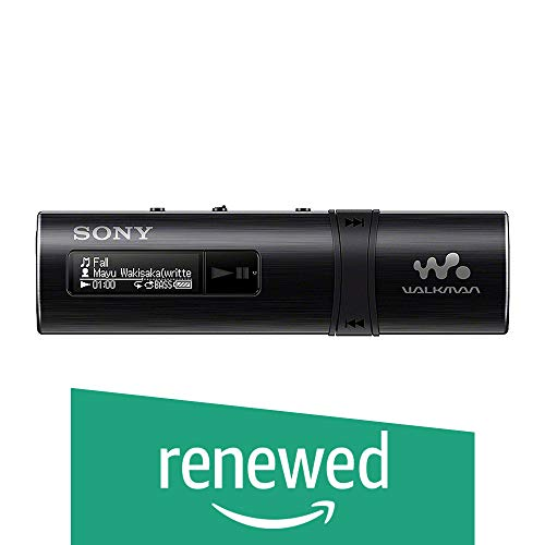 Renewed  Sony NWZ B183F Walkman  Black