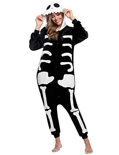 Sykooria pigiama per adulti halloween unisex pigiama animale carino in poliestere indumenti da notte in costume da festa pigiama anime cosplay halloween costume attrezzatura