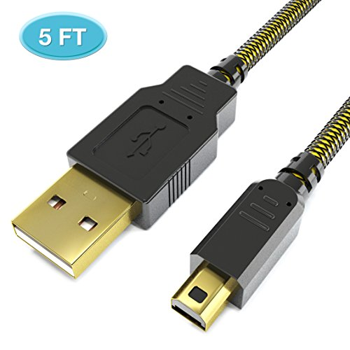6amLifestyle 1,5M USB Ladekabel Kabel Cable für Nintendo 2DS 3DS 3DS XL DSi DSi XL
