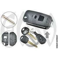 GOSO Kia Hyundai Schlüssel Leer Gehäuse Klappschlüssel HYN6 2Tasten Umbauset 5638